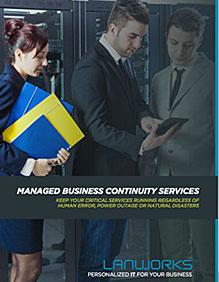 Managed IT Business Continuity Brochure