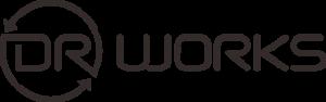 DR WORK-black Logo-transparent background web